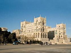 Дом Правительства, Баку