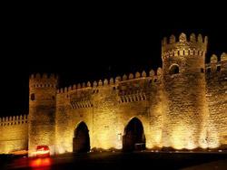 Old town gates, Baku
